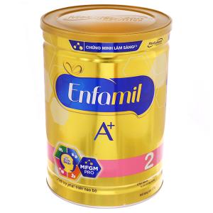 Sữa bột Enfamil A+ 2 lon 1,7kg (6 - 12 tháng)