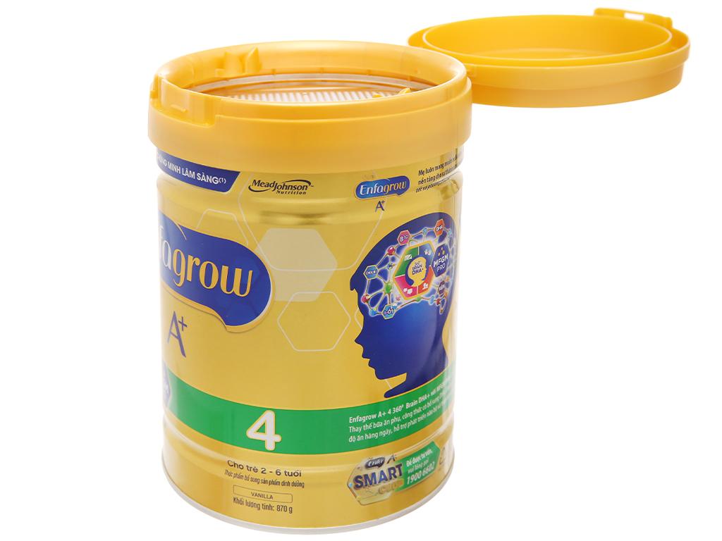Sữa bột Enfagrow A+ 4 vani lon 870g (2 - 6 tuổi) 13