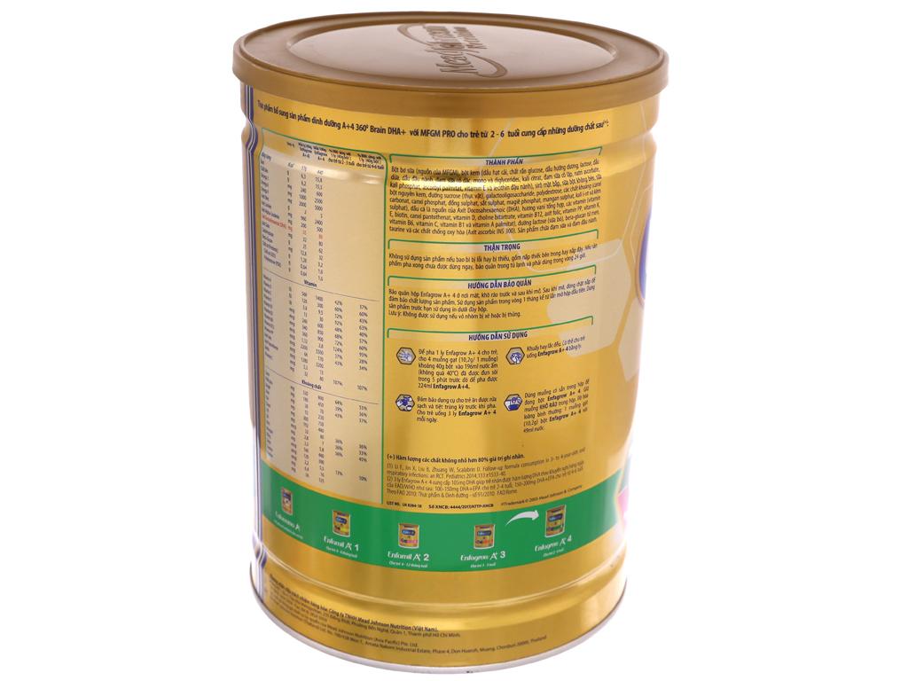 Sữa bột Enfagrow A+ 4 vani lon 1,8kg (2 - 6 tuổi) 4