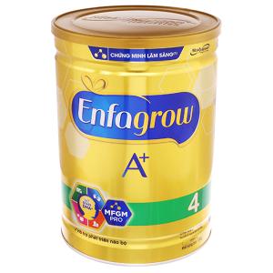 Sữa bột Enfagrow A+ 4 vani lon 1,8kg (2 - 6 tuổi)