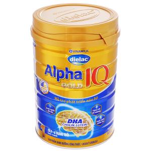 Sữa bột Dielac Alpha Gold IQ 1 lon 900g (lỗi bao bì)
