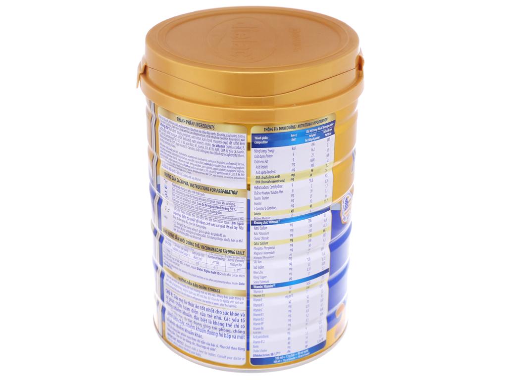 Sữa bột Dielac Alpha Gold IQ 2 lon 900g (6 - 12 tháng) 4