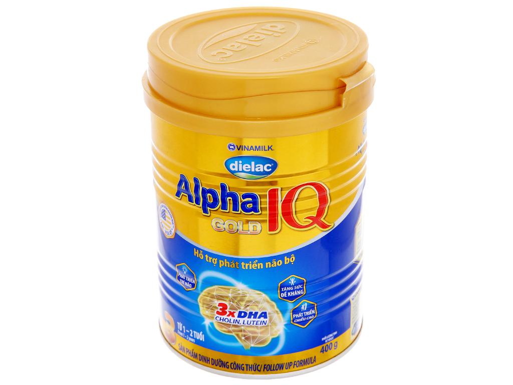 Sữa bột Dielac Alpha Gold IQ 3 lon 400g (1 - 2 tuổi) 2