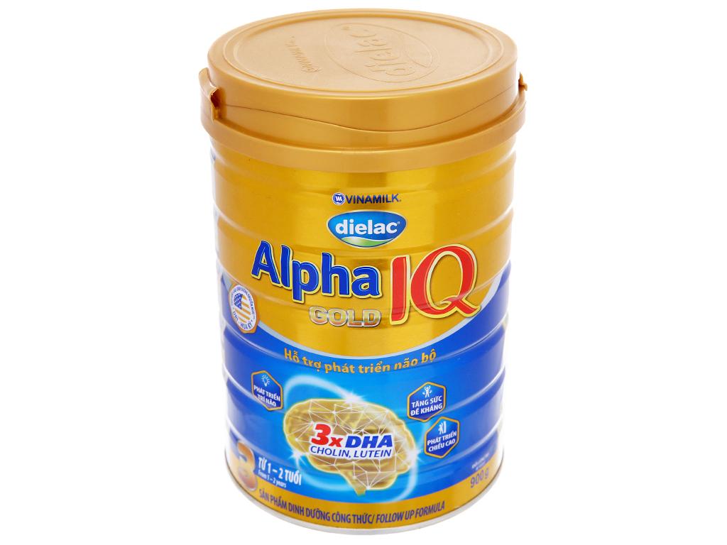 Sữa bột Dielac Alpha Gold IQ 3 lon 900g (1 - 2 tuổi) 2