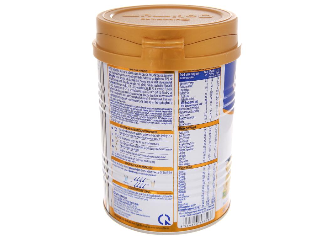 Sữa bột Optimum Gold 3 lon 400g (1 - 2 tuổi) 4
