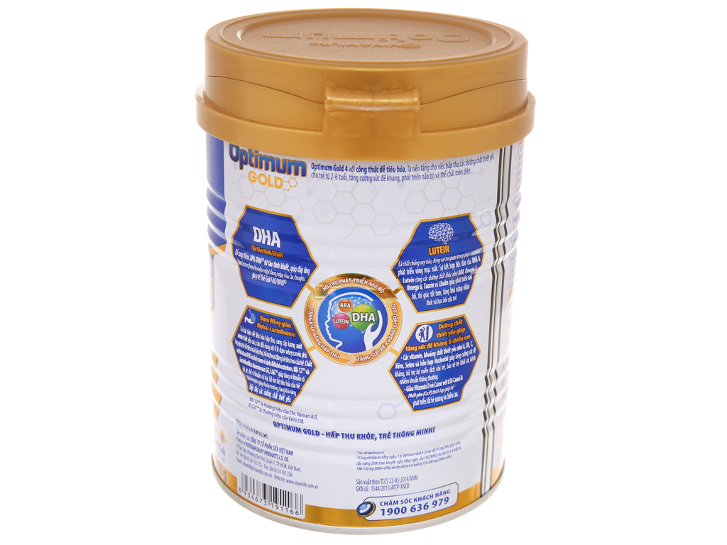 Sữa bột Optimum Gold 4 lon 400g (2 - 6 tuổi) 3