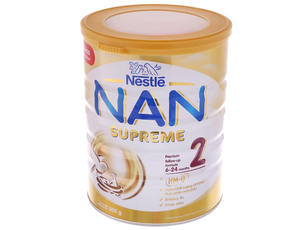 Sữa bột Nestlé Nan Supreme 2 lon 800g (6 tháng - 2 tuổi) 2