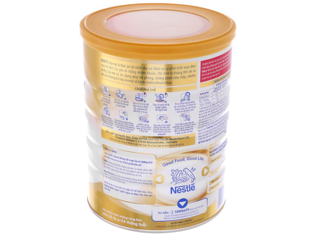 Sữa bột Nestlé Nan Supreme 2 lon 800g (6 tháng - 2 tuổi) 3