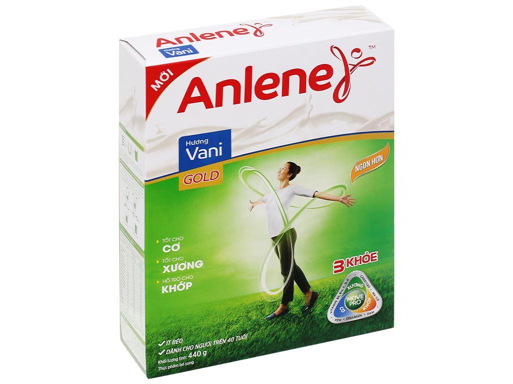 Sữa bột Anlene Gold Movepro vani hộp 440g (trên 40 tuổi) 1
