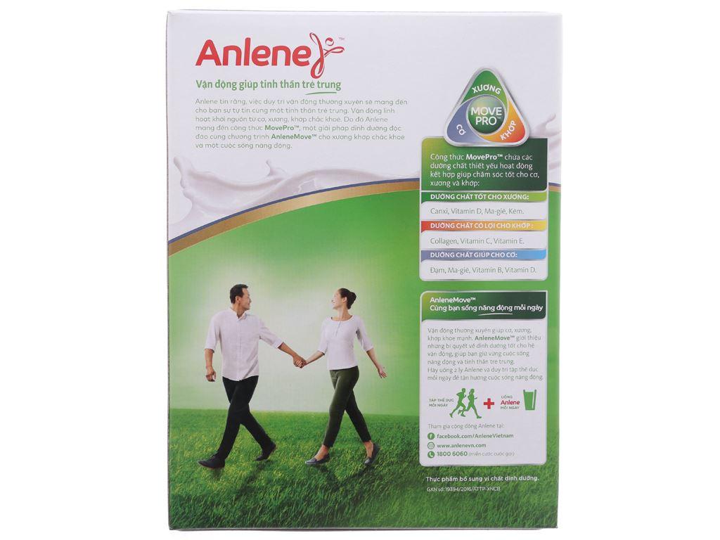 Sữa bột Anlene Gold Movepro vani hộp 440g (trên 40 tuổi) 3