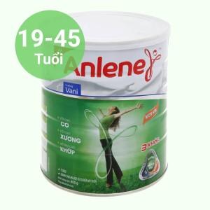Sữa bột Anlene Movepro vani lon 800g (19 - 45 tuổi)