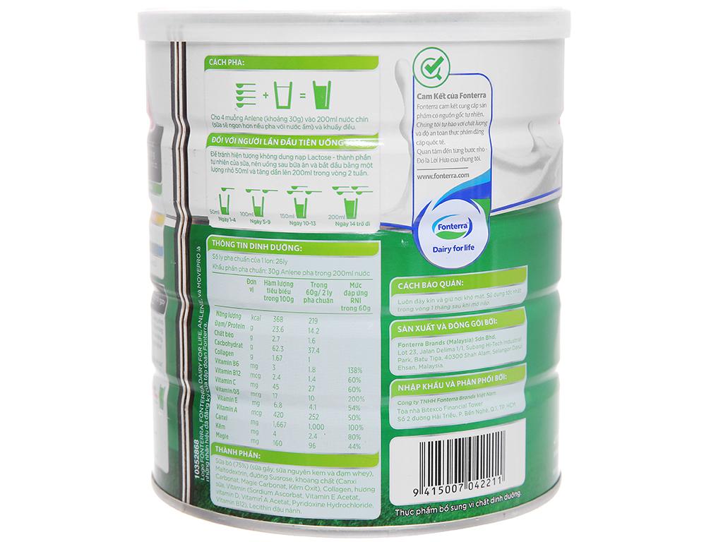 Sữa bột Anlene Movepro vani lon 800g (19 - 50 tuổi) 3