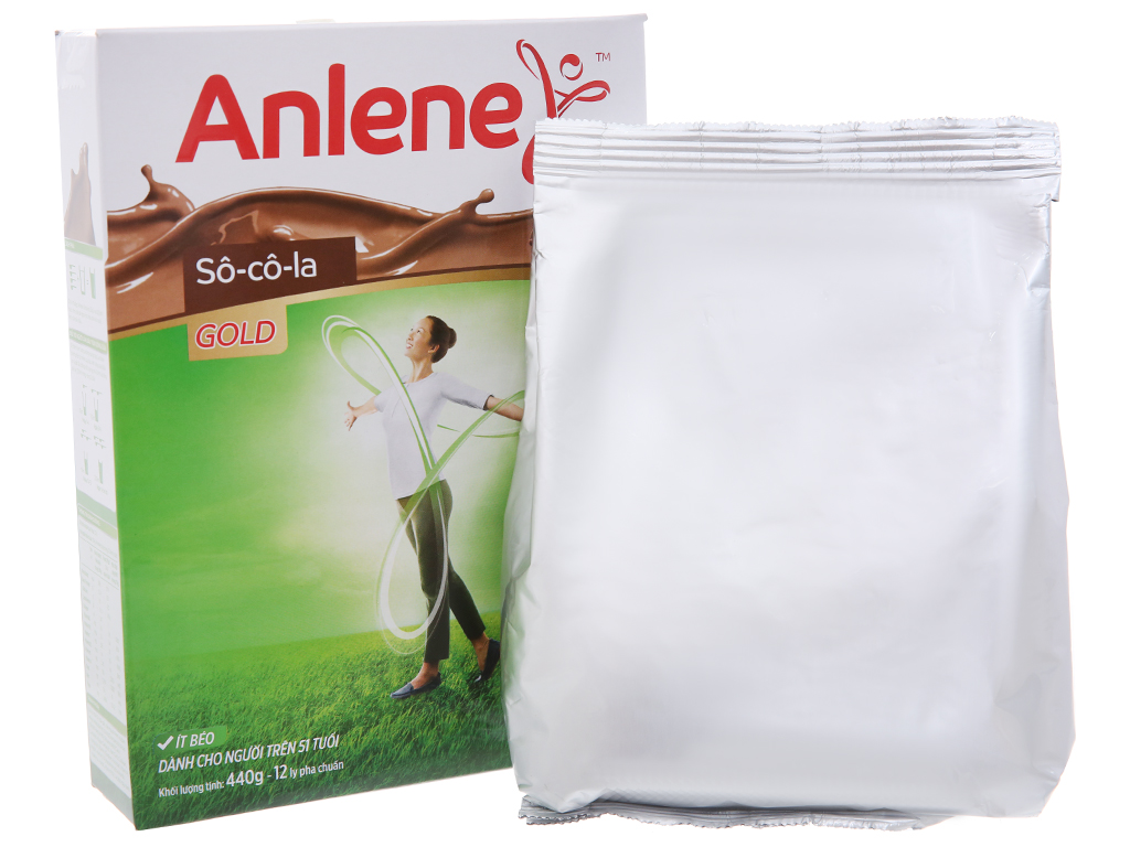 Sữa bột Anlene Gold Movepro sô cô la hộp 440g (trên 51 tuổi) 4