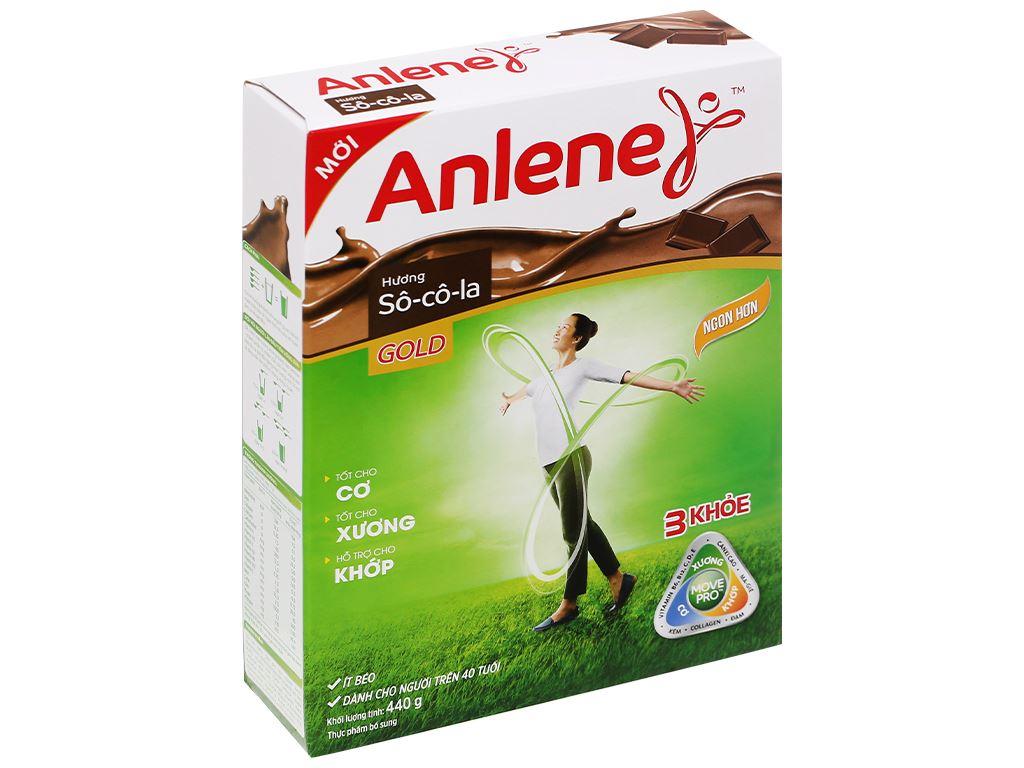 Sữa bột Anlene Gold Movepro socola hộp 440g (trên 51 tuổi) 1