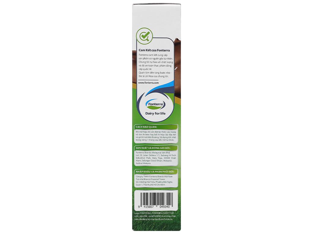 Sữa bột Anlene Gold Movepro socola hộp 440g (trên 51 tuổi) 6
