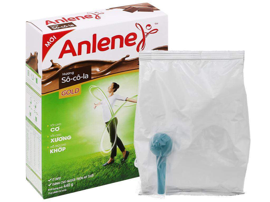 Sữa bột Anlene Gold Movepro socola hộp 440g (trên 51 tuổi) 9