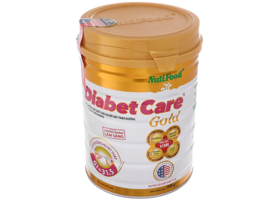 Sữa bột NutiFood Diabet Care Gold lon 900g (cho người bệnh tiểu đường) 2