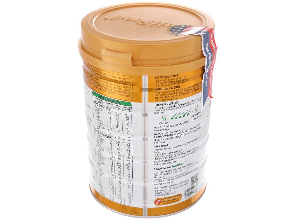 Sữa bột NutiFood Diabet Care Gold lon 900g (cho người bệnh tiểu đường) 4