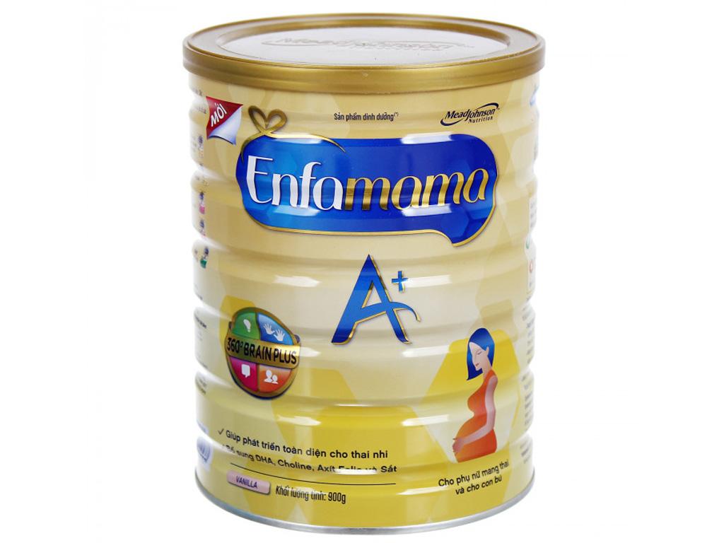 Sữa bột Enfamama A+ hương vani lon 900g 1