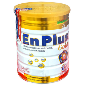 Sữa bột NutiFood EnPlus Gold lon 900g (cho người cao tuổi)