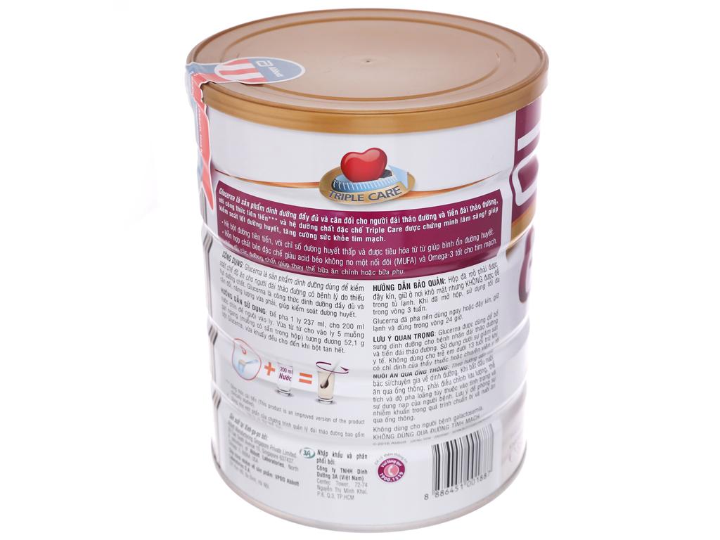 Sữa bột Abbott Glucerna vani lon 850g (cho người bệnh tiểu đường) 3