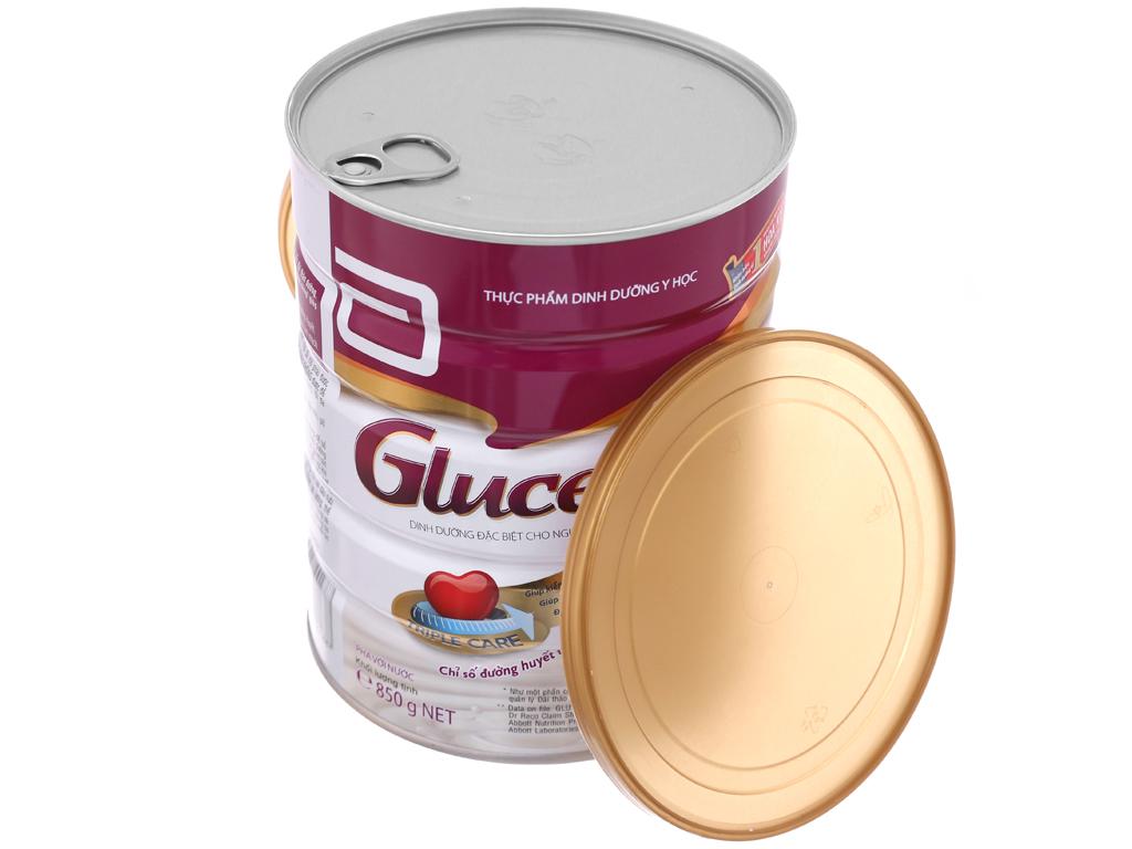 Sữa bột Abbott Glucerna vani lon 850g (cho người bệnh tiểu đường) 4