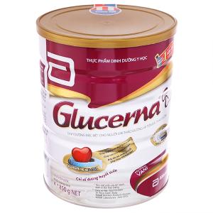 Sữa bột Abbott Glucerna vani lon 850g (cho người bệnh tiểu đường)