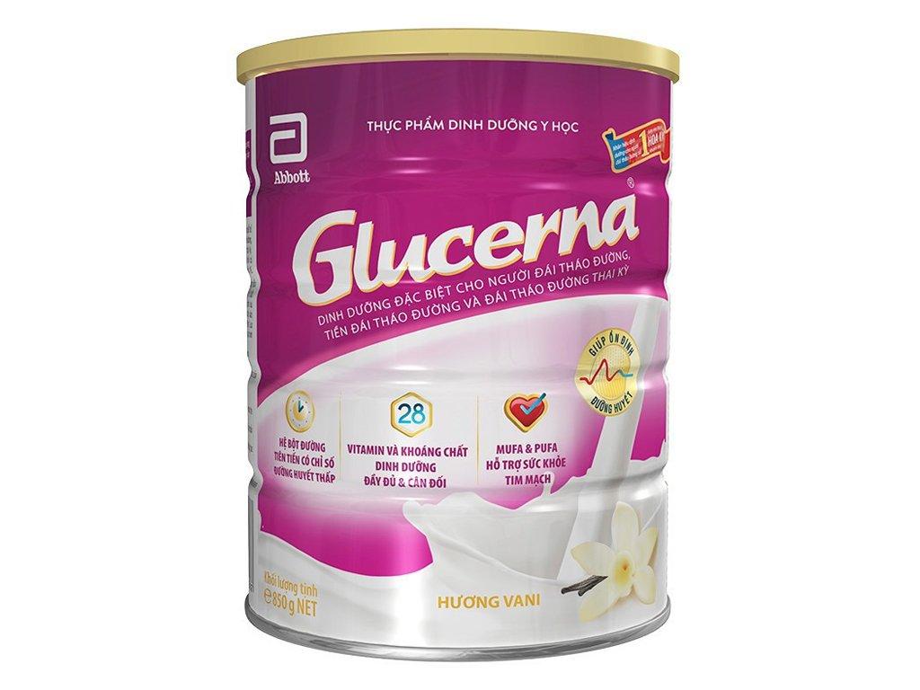 Sữa bột Abbott Glucerna vani lon 850g (cho người bệnh tiểu đường) 11