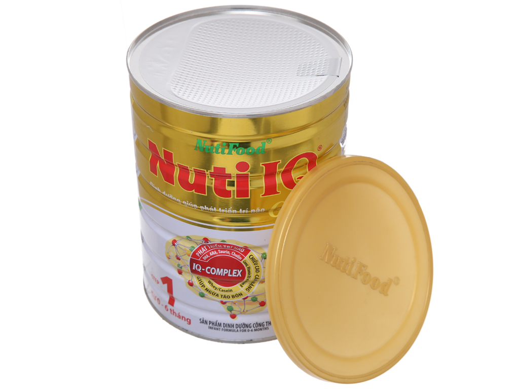 Sữa bột NutiFood Nuti IQ Gold 1 lon 900g (0 - 6 tháng) 5