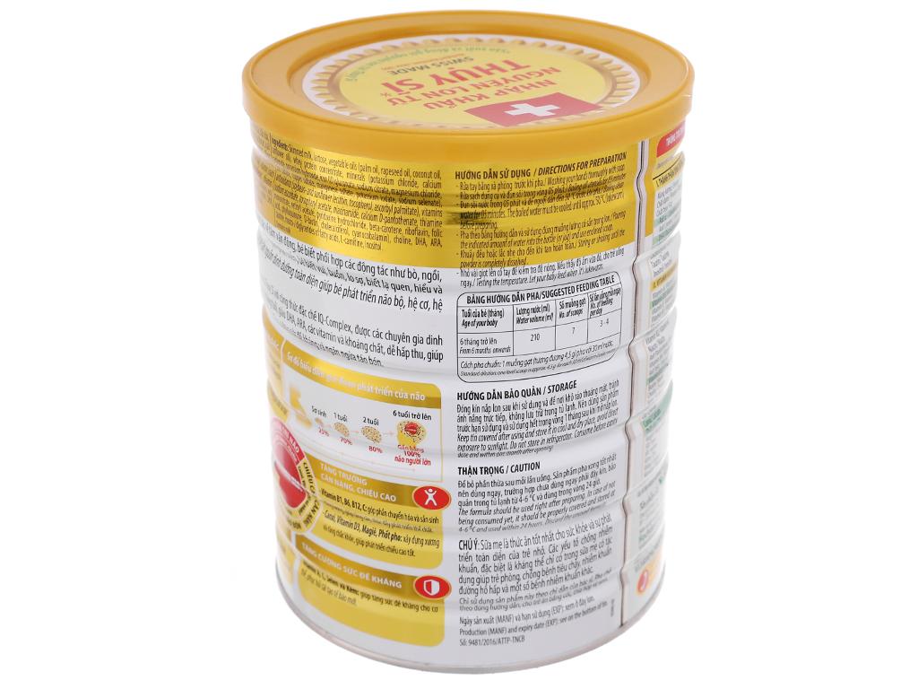 Sữa bột NutiFood Nuti IQ Gold 2 lon 900g (6 - 12 tháng) 4