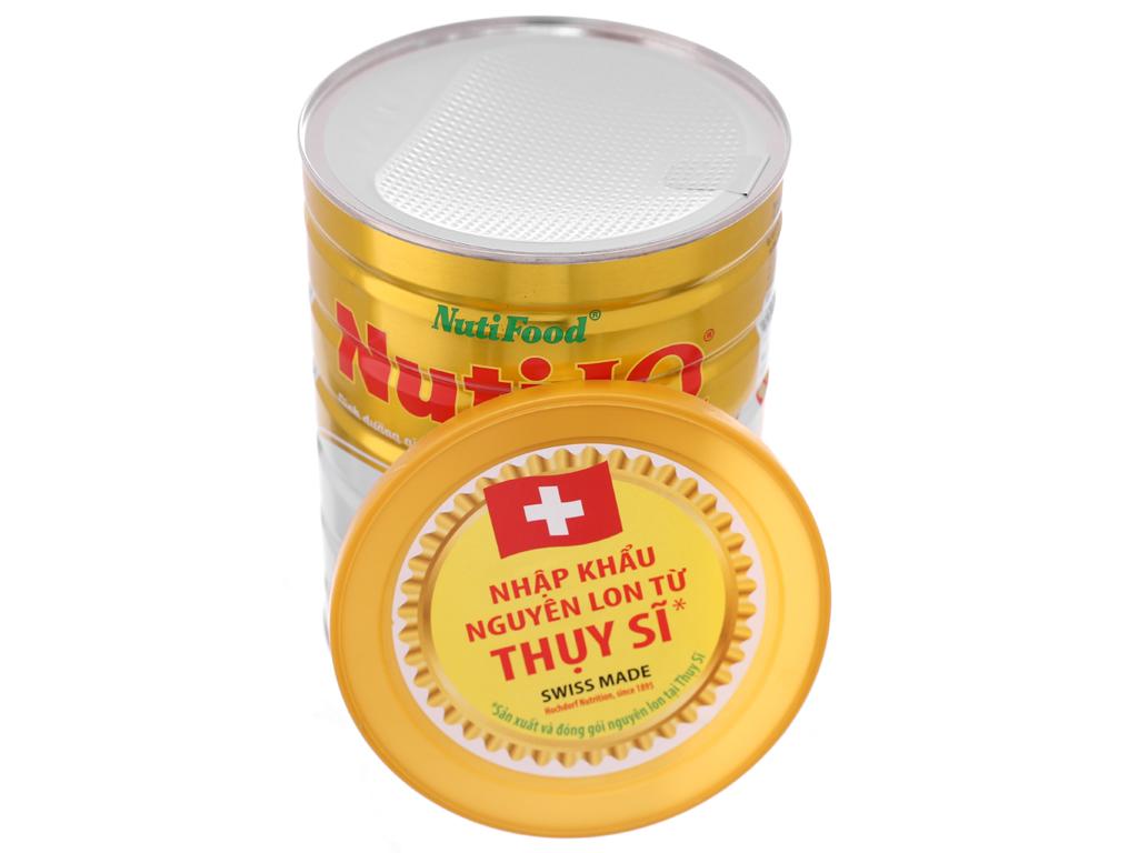 Sữa bột NutiFood Nuti IQ Gold 2 lon 900g (6 - 12 tháng) 5