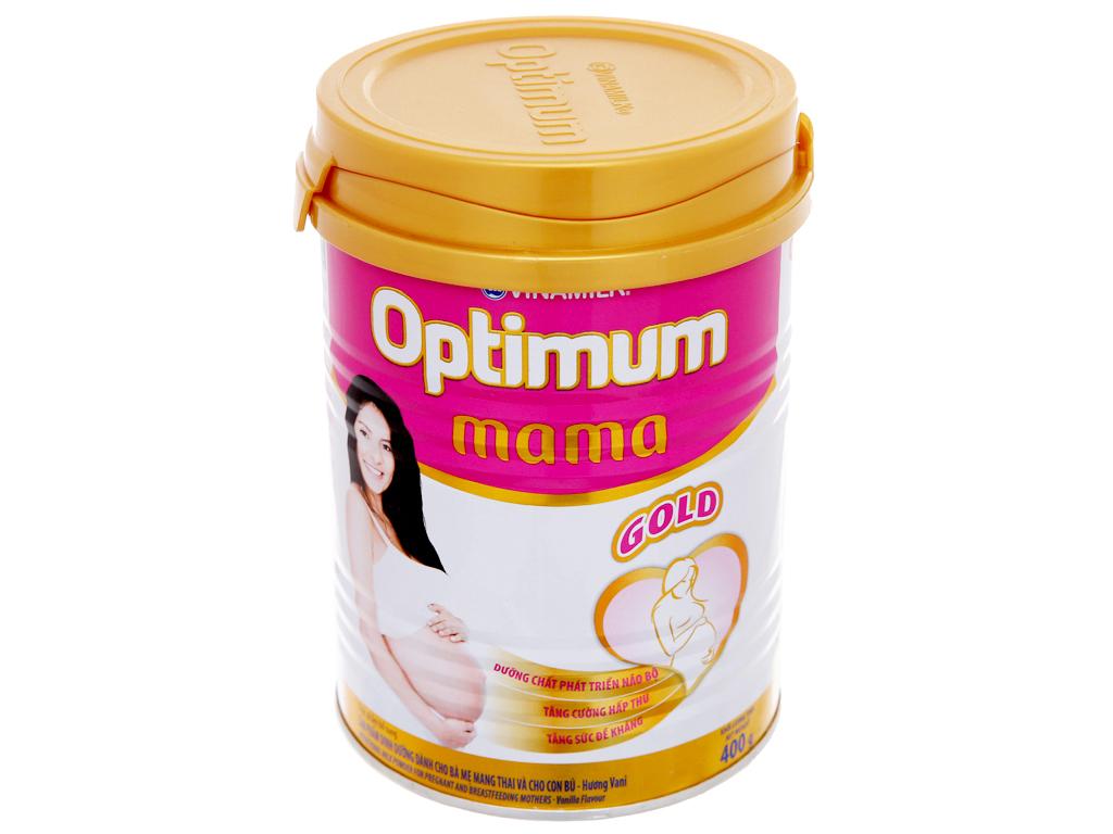 Sữa bột Optimum Mama Gold vani lon 400g 2