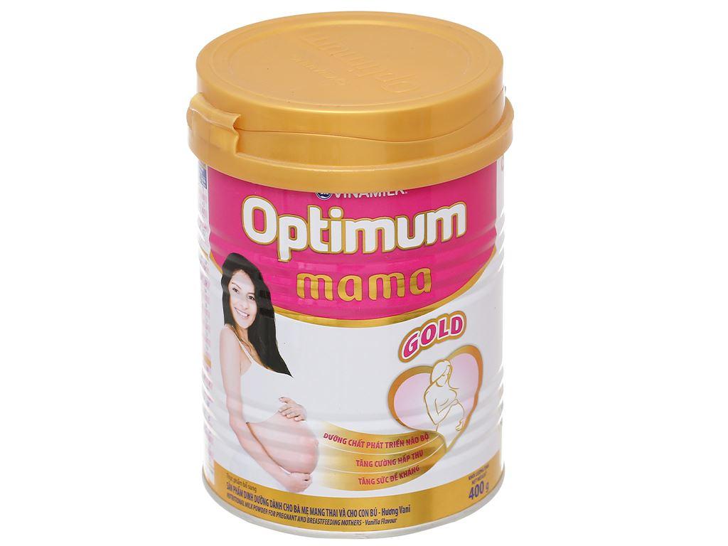 Sữa bột Optimum Mama Gold vani lon 400g 1