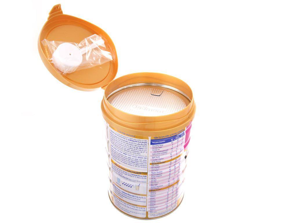 Sữa bột Optimum Mama Gold vani lon 900g 4