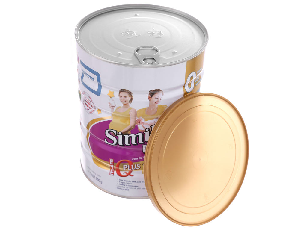Sữa bột Abbott Similac Mom Eye-Q Plus vani lon 900g 5