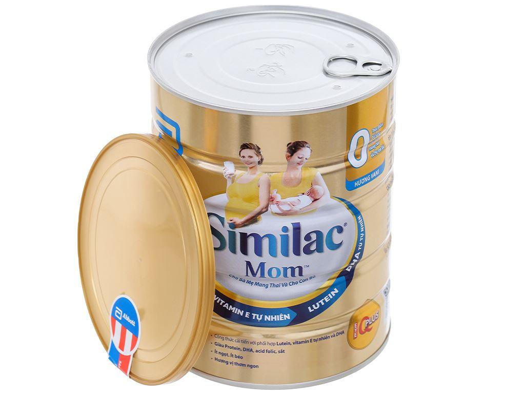 Sữa bột Abbott Similac Mom Eye-Q Plus vani lon 900g 5