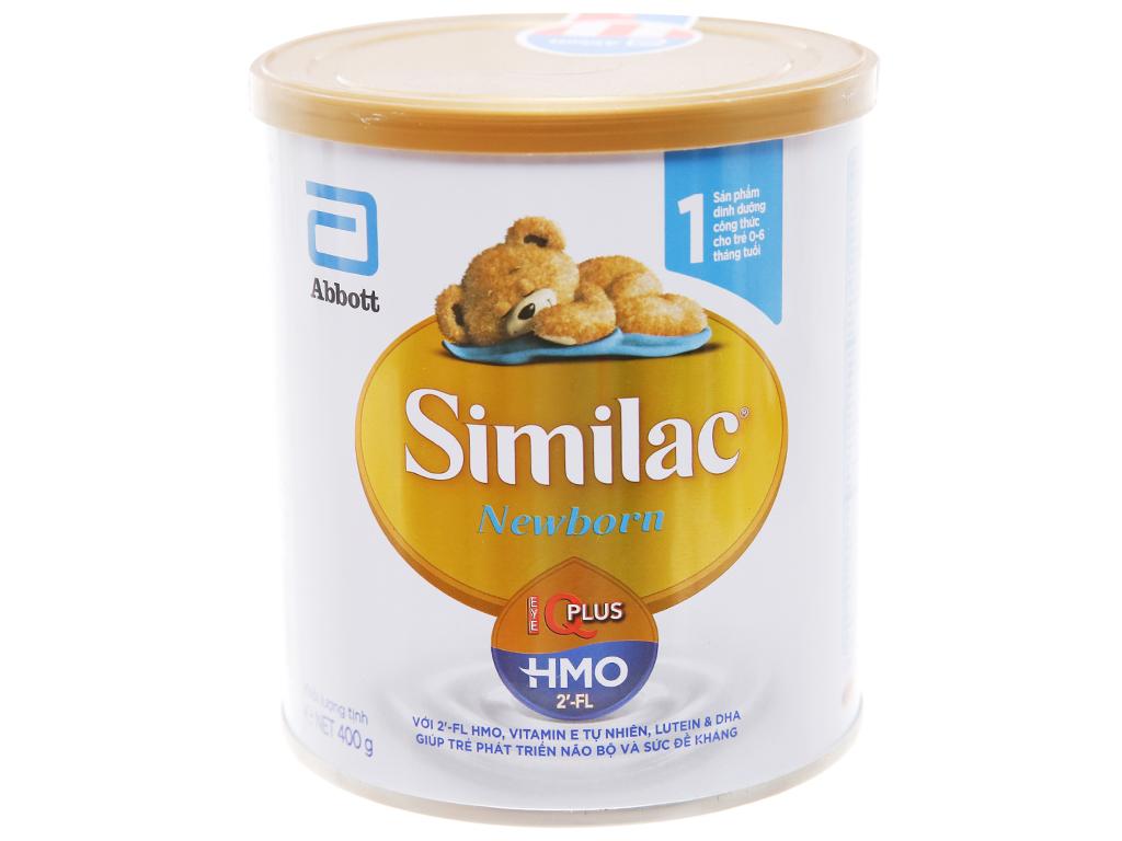 Sữa bột Abbott Similac Newborn Eye-Q Plus (HMO) lon 900g (0 - 6 tháng) 1