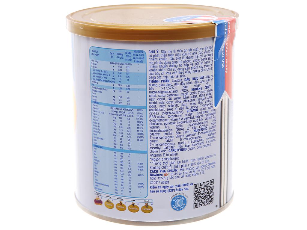 Sữa bột Abbott Similac Newborn Eye-Q Plus (HMO) lon 900g (0 - 6 tháng) 3