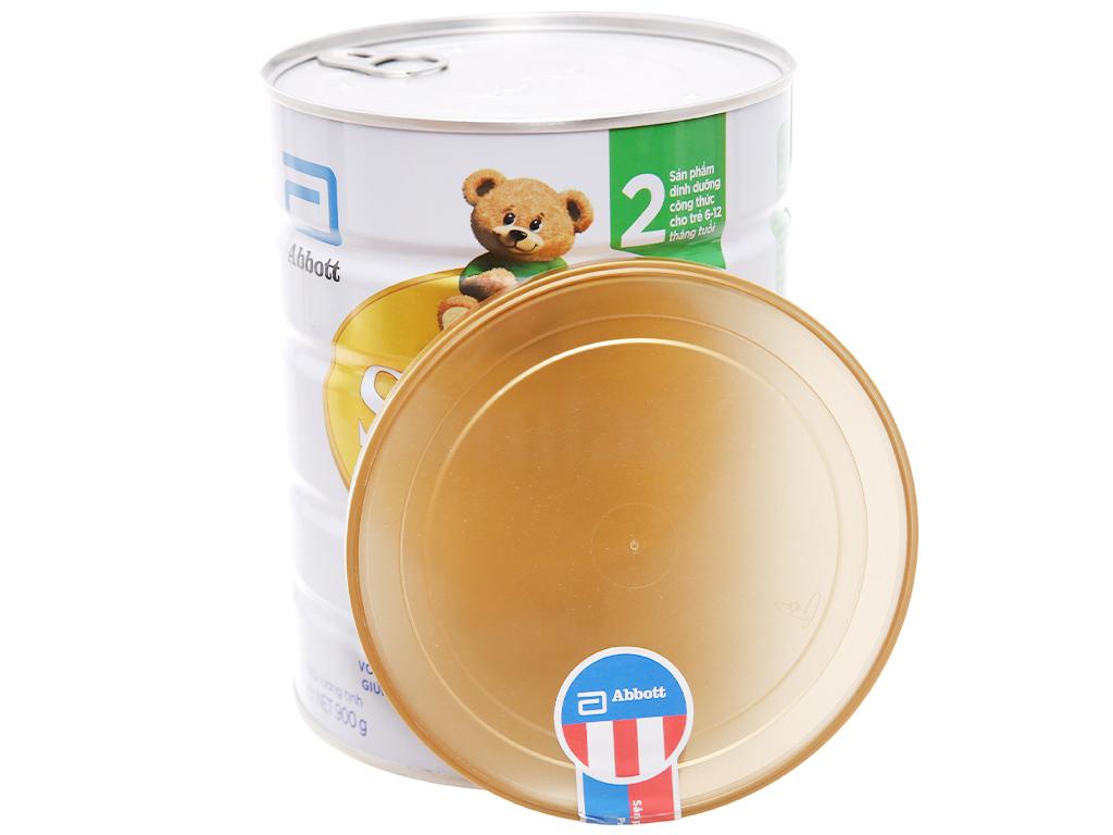 Sữa bột Abbott Similac Eye-Q 2 Plus (HMO) vani lon 900g (6 - 12 tháng) 4
