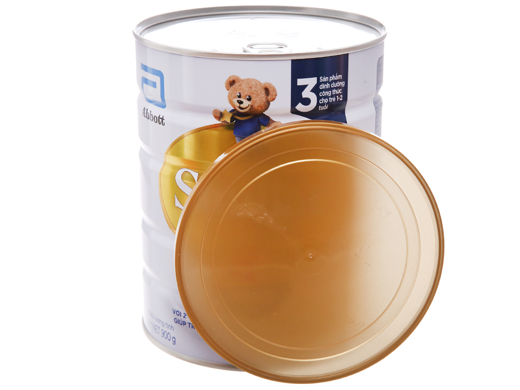 Sữa bột Abbott Similac Eye-Q 3 Plus (HMO) vani lon 900g (1 - 2 tuổi) 4