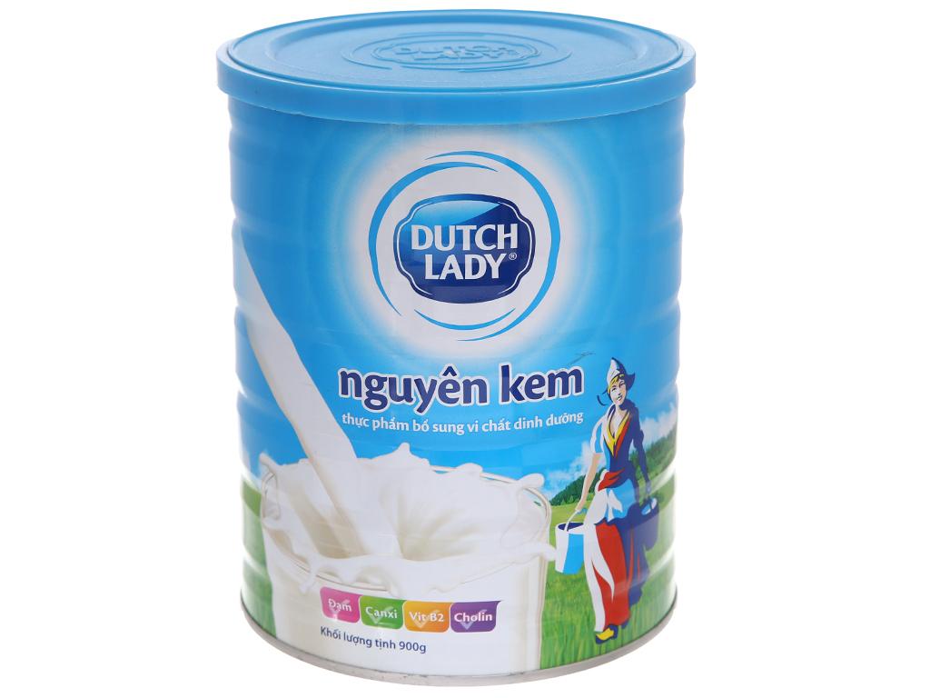 Sữa bột Dutch Lady nguyên kem lon 900g 1
