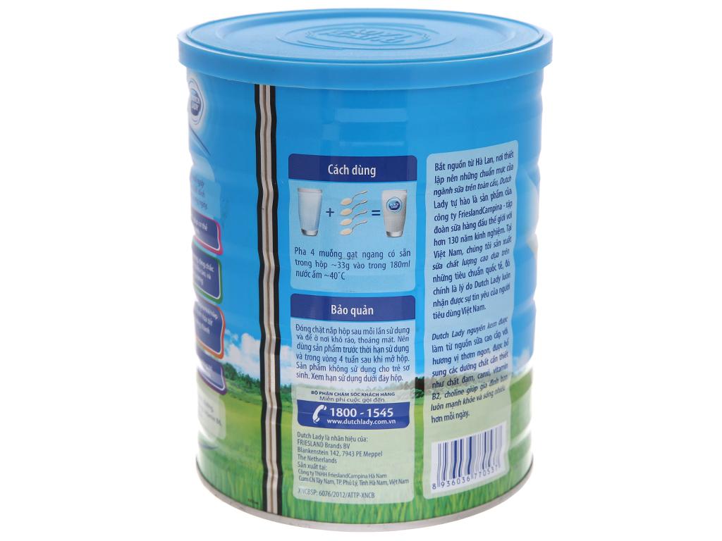 Sữa bột Dutch Lady nguyên kem lon 900g 3