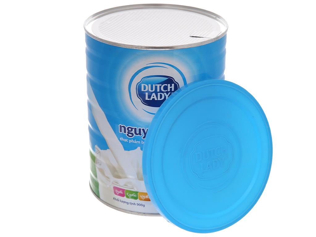Sữa bột Dutch Lady nguyên kem lon 900g 4