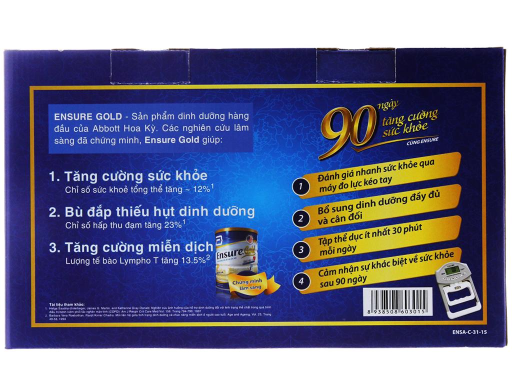 Hộp quà Ensure Gold vani 2 lon 850g và ensure gold virgo 2 chai 237ml 3