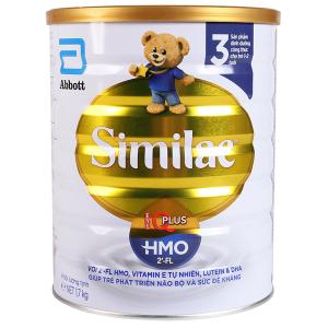 Sữa bột Abbott Similac Eye-Q 3 Plus (HMO) vani lon 1,7kg (1 - 2 tuổi)