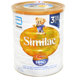 Sữa bột Abbott Similac Eye-Q 3 Plus (HMO) vani lon 1.7kg (1 - 2 tuổi)