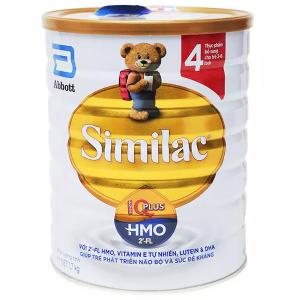 Sữa bột Abbott Similac Eye-Q 4 Plus (HMO) vani lon 1,7kg (2 - 6 tuổi)