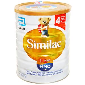 Sữa bột Abbott Similac Eye-Q 4 Plus (HMO) vani lon 1.7kg (2 - 6 tuổi)
