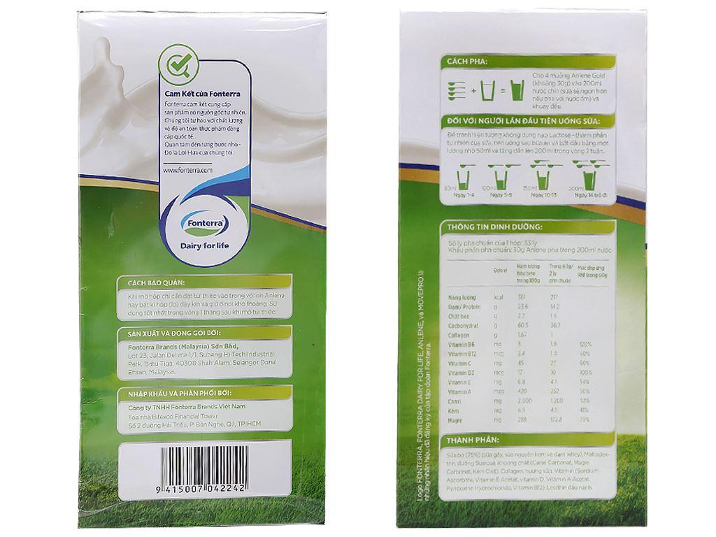 Sữa bột Anlene Gold MovePro vani ít béo hộp 1kg (trên 40 tuổi) 3