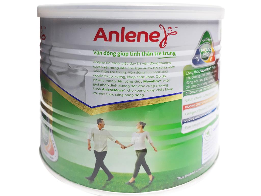 Sữa bột Anlene Gold Movepro vani ít béo hộp 400g (trên 51 tuổi) 2